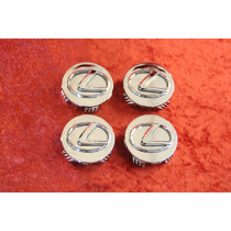 Set of 4 Chrome Center caps LEXUS