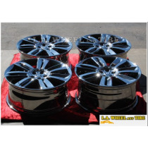 "Jaguar XFR Nevis OEM 20"" Set of 4 WinterChrome Wheels 59850"