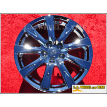 "Infiniti G37 Sedan OEM 18"" Set of 4 Chrome Wheels"