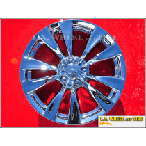 "Infiniti M37 M56 OEM 18"" Set of 4 Chrome Wheels 73730"
