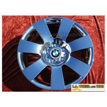 "BMW 5-series Sport Style 123 OEM 18"" Set of 4 Chrome Wheels"