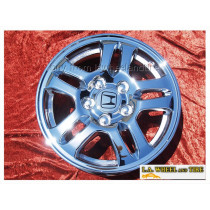 "Honda CR-V OEM 15"" Set of 4 Chrome Wheels"