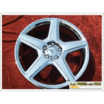 "Mercedes-Benz CLS55 / CLS63 AMG OEM 19"" Set of 4 Chrome Wheels"