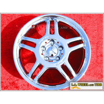 "Mercedes-Benz C32 / SLK32 AMG OEM 17"" Set of 4 Chrome Wheels"