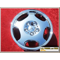 "Mercedes-Benz E-class OEM 16"" Set of 4 Chrome Wheels"