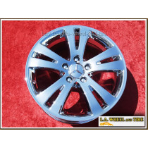 "Mercedes-Benz C300 / C350 OEM 17"" Set of 4 Chrome Wheels"