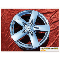 "Mercedes-Benz SLK280 OEM 16"" Set of 4 Chrome Wheels 65405"