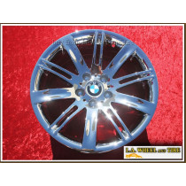 "BMW 6-series Style 120 OEM 18"" Set of 4 Chrome Wheels"