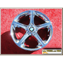 "BMW 128i / 135i Style 264 OEM 18"" Set of 4 Chrome Wheels"