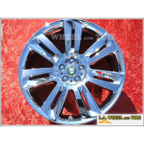 "Jaguar XFR Nevis OEM 20"" Set of 4 Chrome Wheels"