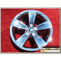 "BMW 528i / 530i Sport Style 246 OEM 18"" Set of 4 Chrome Wheels"