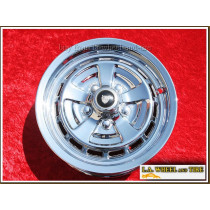 "Jaguar XJ6 Kent OEM 15"" Set of 4 Chrome Wheels"