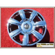 """Bentley Continental GT / GTC / Flying Spur OEM Forged 20"""" Set of 4 Chrome Wheels"""