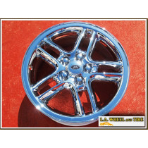 "Land Rover Hurricane OEM 18"" Set of 4 Chrome Wheels"