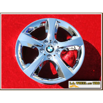 "BMW X5 Style 210 OEM 18"" Set of 4 Chrome Wheels"