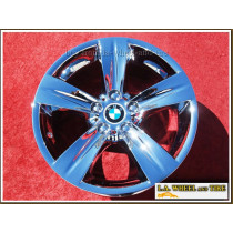 "BMW 335i Sport Style 189 OEM 18"" Set of 4 Chrome Wheels"