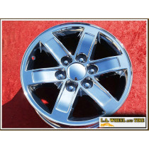 "GMC Sierra 1500 / Savana / Yukon OEM 17"" Set of 4 Chrome Wheels"
