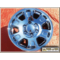 "GMC Sierra 1500 / Yukon OEM 17"" Set of 4 Chrome Wheels"
