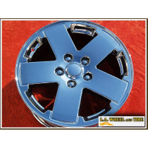 "Jeep Wrangler OEM 18"" Set of 4 Chrome Wheels"