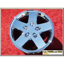 "Jeep Wrangler OEM 17"" Set of 4 Chrome Wheels"