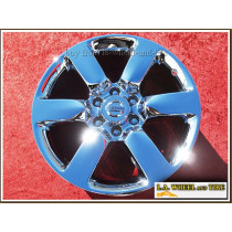 "Nissan Titan OEM 20"" Set of 4 Chrome Wheels"