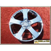 "Mazda 5 OEM 17"" Set of 4 Chrome Wheels"