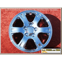 "Toyota Highlander OEM 16"" Set of 4 Chrome Wheels"