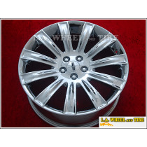 "Lincoln MKS OEM 20"" Set of 4 Chrome Wheels"