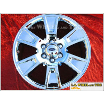 "Ford F-150 OEM 20"" Set of 4 Chrome Wheels"