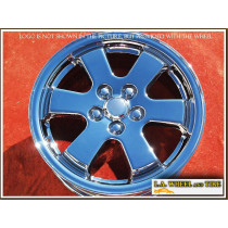 "Toyota Prius OEM 15"" Set of 4 Chrome Wheels"
