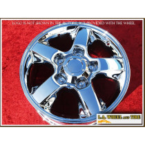 "Toyota Land Cruiser OEM 18"" Set of 4 Chrome Wheels"