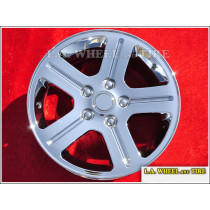 "Jeep Commander OEM 17"" Set of 4 Chrome Wheels"