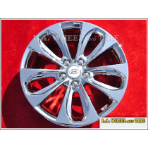 "Hyundai Sonata OEM 18"" Set of 4 Chrome Wheels"