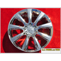 "Infiniti QX56 / QX80 OEM 22"" Set of 4 Chrome Wheels"