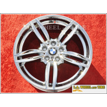 "BMW 5 / 6-Series Style 351 OEM 19"" Set of 4 Chrome Wheels"