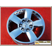 "Nissan Armada / Titan OEM 18"" Set of 4 Chrome Wheels"