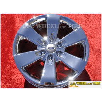 "Ford F-150 FX Package OEM 20"" Set of 4 Chrome Wheels"