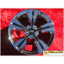"Hyundai Veloster OEM 18"" Set of 4 Chrome Wheels"