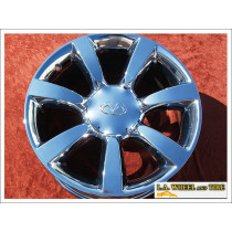 "Infiniti FX35 / Q45 OEM 18"" Set of 4 Chrome Wheels"