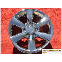 "Lexus GX460 OEM 18"" Set of 4 Chrome Wheels"