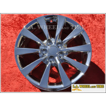 "Lexus LS460 OEM 18"" Set of 4 Chrome Wheels"