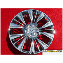 "Chevrolet Impala OEM 20"" Set of 4 Chrome Wheels"