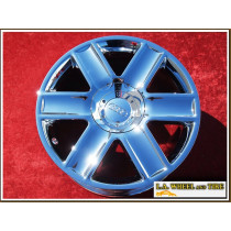"Audi TT OEM 17"" Set of 4 Chrome Wheels"