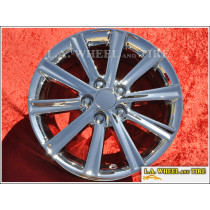 "Toyota Camry OEM 17"" Set of 4 Chrome Wheels"