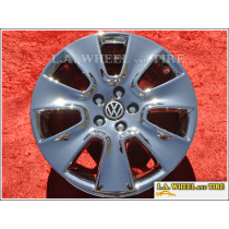 "Volkswagen Beetle Mali OEM 16"" Set of 4 Chrome Wheels"