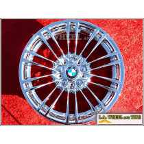 "BMW M3 Style 260 M260 OEM 18"" Set of 4 Chrome Wheels 71230"