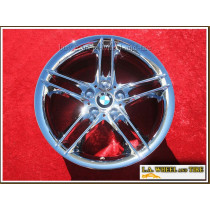 "BMW Z4 Style 224 OEM 18"" Set of 4 Chrome Wheels"
