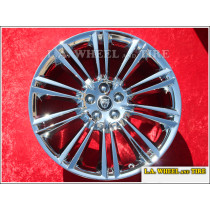 "Jaguar XJ / XK Kasuga OEM 20"" Set of 4 Chrome Wheels"