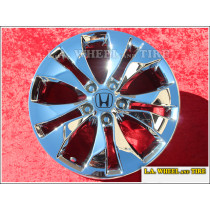 "Honda CR-V OEM 17"" Set of 4 Chrome Wheels"
