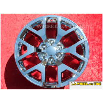 "GMC Sierra 1500 OEM 20"" Set of 4 Chrome Wheels"